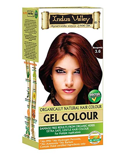 Image result for Indus Valley Permanent Herbal Hair Color Burgundy