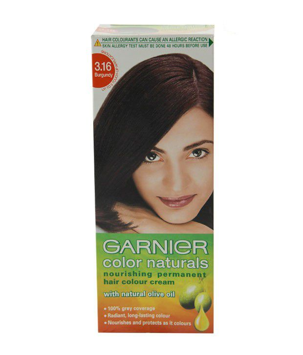 Image result for Garnier Color Naturals Hair Color burgundy