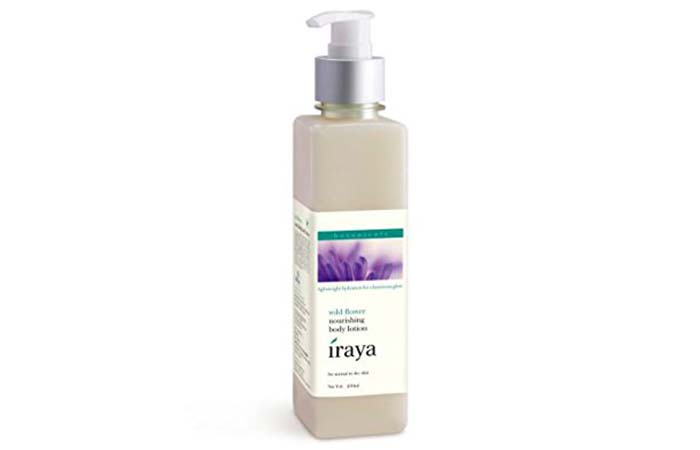 9. Iraya Wild Flower Nourishing Body Lotion
