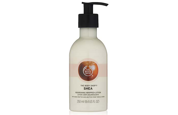 3. The Body Shop Shea Whip Body Lotion