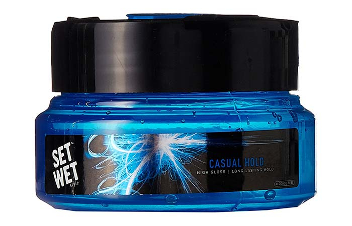 3. Set Wet Style Casual Hold Gel