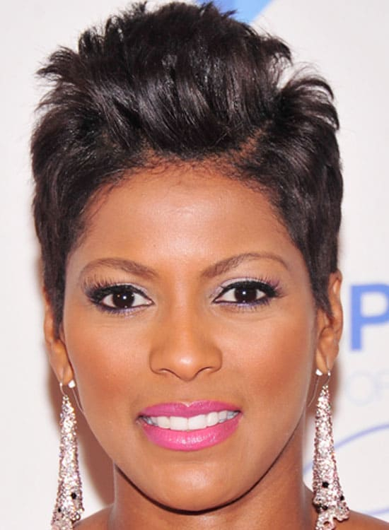 8. Double-Parted Hair with High Textured Top