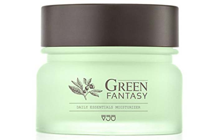 VJU Green Fantasy Facial Moisturizer Day And Night Cream