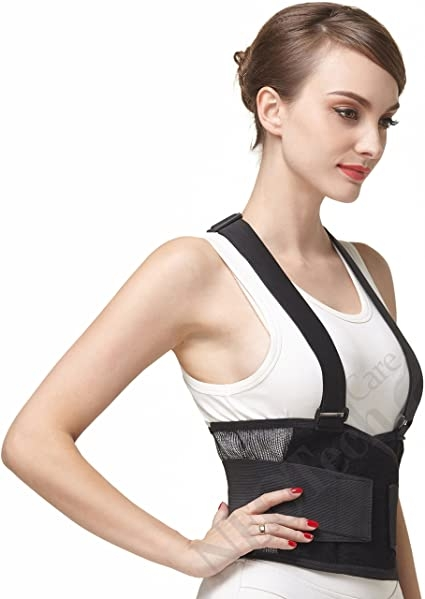 NeoTech Care Back Brace with Suspenders