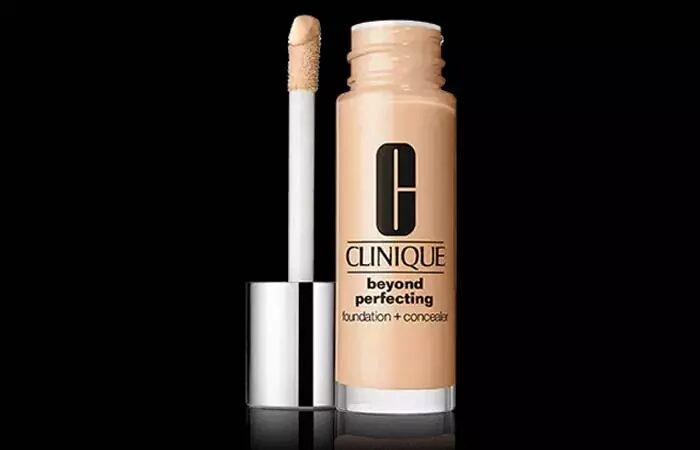 15.Clinique Beyond Perfecting Foundation + Concealer