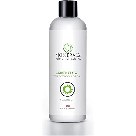 Skinerals Amber Glow Tan Extender Lotion